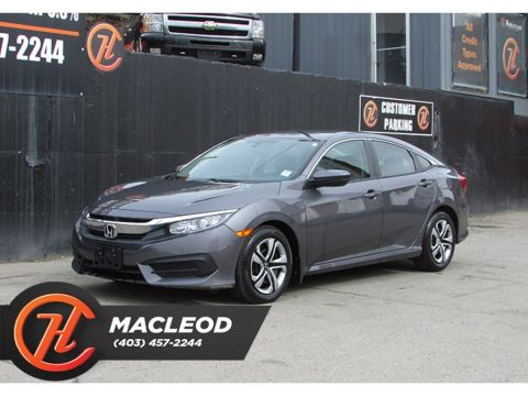 Pre-Owned 2018 Honda Civic LX,Heated Seats Backup Cam Bluetooth FWD Sedan