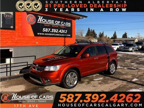 Pre-Owned 2014 Dodge Journey R/T / Sunroof / Heated seats