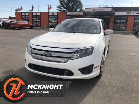 Pre-Owned 2011 Ford Fusion Sport 3.5L V6 / Leather / Sunroof