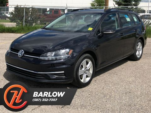 Pre-Owned 2019 Volkswagen Golf SportWagen Comfortline DSG 4MOTION / Back up cam