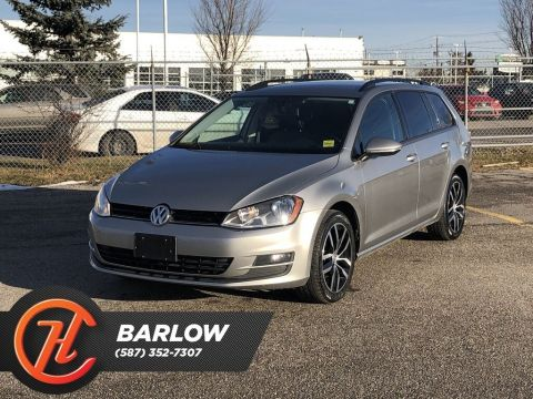 Pre-Owned 2017 Volkswagen Golf SportWagen 1.8 TSI Comfortline / Leather / Back up cam