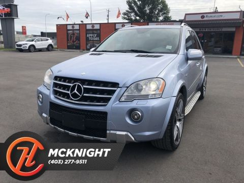 Pre-Owned 2009 Mercedes-Benz M-Class Leather / Sunroof / Back up cam