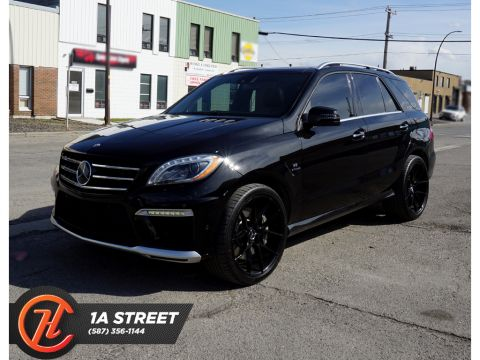 Pre-Owned 2012 Mercedes-Benz M-Class 4dr ML63 AMG