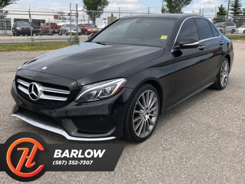 Pre-Owned 2015 Mercedes-Benz C-Class C 400 4MATIC / Navi / SUNROOF / Back up Camera
