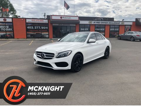 Pre-Owned 2015 Mercedes-Benz C-Class 4dr Sdn C 400 4MATIC