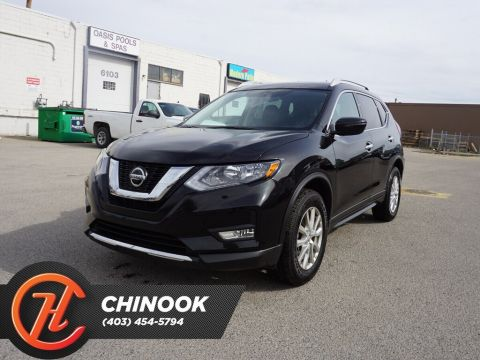Pre-Owned 2018 Nissan Rogue SV w/ Bluetooth,Heated Seats,Sunroof