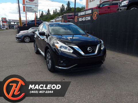 Pre-Owned 2017 Nissan Murano SL AWD LEATHER SUNROOF NAV