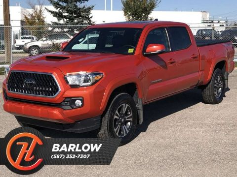 Pre-Owned 2018 Toyota Tacoma TRD / Leather /Sunroof / Navi