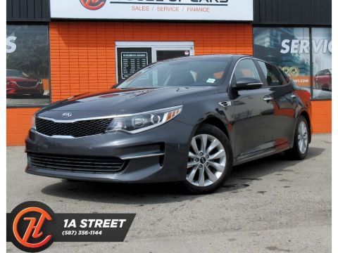 Pre-Owned 2016 Kia Optima LX+/BACKUP CAM/BLUETOOTH/HEATED SEATS/MORE