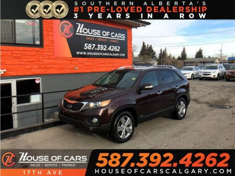 Pre-Owned 2012 Kia Sorento EX V6 / Leather / Sunroof / Heated seats