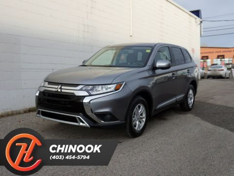 Pre-Owned 2019 Mitsubishi Outlander ES w/ Bluetooth,Heated Seats,Backup Cam