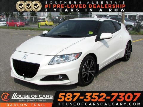 Pre-Owned 2015 Honda CR-Z Premium / Navi / Leather /