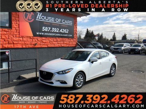 Pre-Owned 2018 Mazda3 GS / Heated seats / Heated wheel