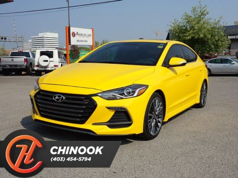 Pre-Owned 2017 Hyundai Elantra Sport Tech w/ Heated Seats,Bluetooth,Backup Cam