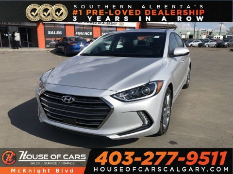 Pre-Owned 2018 Hyundai Elantra GLS / Leather / Sunroof / Heated Seats