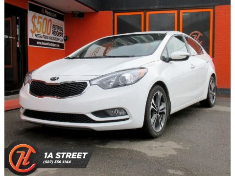 Pre-Owned 2014 Kia Forte 2.0L EX w/Sunroof/BACKUP CAM/USB/AUX