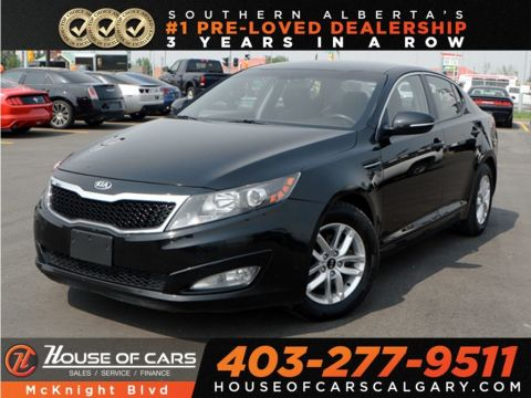Pre-Owned 2013 Kia Optima LX / Six Speed