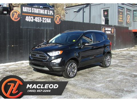 Pre-Owned 2019 Ford EcoSport Titanium/ Leather / Navi / Back up cam 4x4