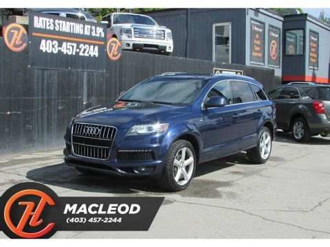 Pre-Owned 2012 Audi Q7 3.0 Premium Plus S-Line,Navi,AWD,Moonroof
