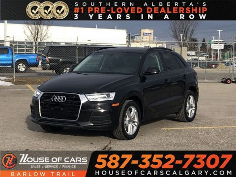 Pre-Owned 2017 Audi Q3 2.0T Komfort / Heated leather seats / Sunroof