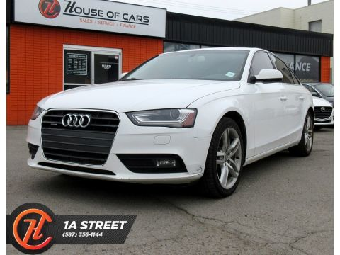 Pre-Owned 2013 Audi A4 2.0TPremium(Tiptronic)/SUNROOF/NAV/HEATED SEATS/PS