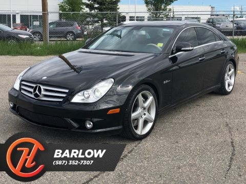 Pre-Owned 2007 Mercedes-Benz CLS 4dr Sdn 6.2L AMG / Navi / Leather