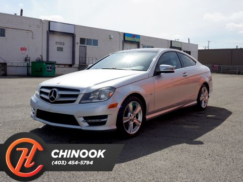 Pre-Owned 2012 Mercedes-Benz C-Class 2dr Cpe C250 RWD