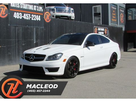 Pre-Owned 2014 Mercedes-Benz C-Class C63 Edition 507