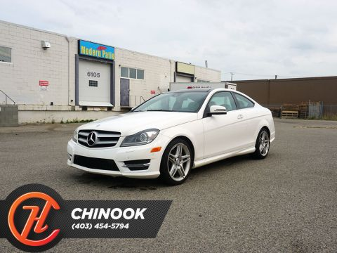 Pre-Owned 2013 Mercedes-Benz C-Class 2dr Cpe C 350 4MATIC